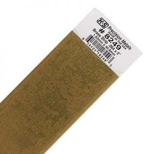 "0.064 x 2 x 12"" Brass Strip K&S Engineering 8249"