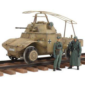 Tamiya German Armored Railway Vehicle P204(f) 1/35 Scale 32413