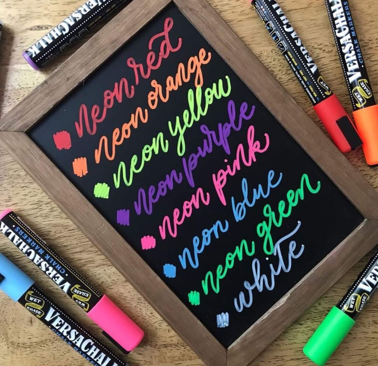 Versachalk Chalk Markers 8 Neon Colored Markers 5mm Bold Tip Vc102 B Clearance Online Shopping Canada And Usa Model Kits Paints Airbrushing Tools