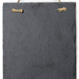 Versachalk Frameless Slate Chalkboard Sign 8x12 inches VC110-A