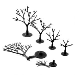 "Woodland Scenics 3/4"" to 2"" Armatures Deciduous TR1120"