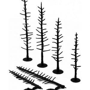 "Woodland Scenics 2 1/2"" to 4"" Armatures Pines TR1124"
