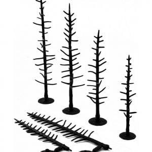 "Woodland Scenics 4"" to 6"" Armatures Pines TR1125"