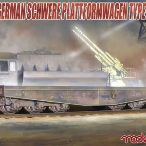 Modelcollect Kits Germany Schwerer plattformwagen type ssyms 80 UA72043