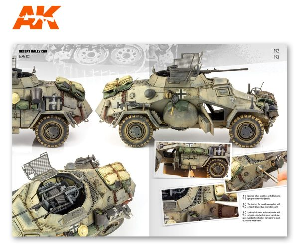 AK Interactive DAK German AFV in North Africa AKI 912