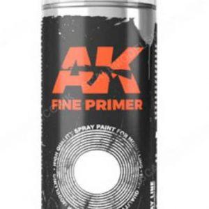 AK Interactive Spray Can Fine Primer White AKI 1042