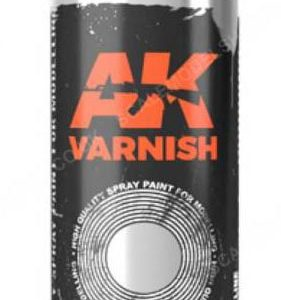 AK Interactive Spray Can Gloss Varnish AKI 1044