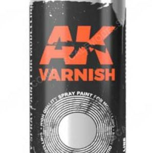 AK Interactive Spray Can Matt Varnish AKI 1045