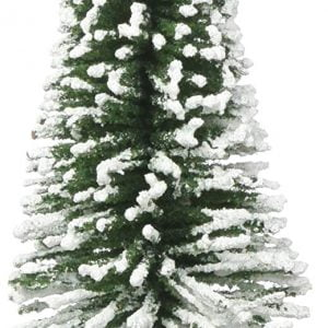 "Bachmann 6"" Pine Trees with Snow Box of 6 HO Scale 32002"