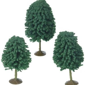 "Bachmann 3"" - 4"" Deciduous Trees Box of 3 HO Scale 32006"