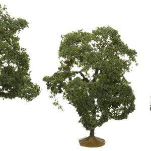 "Bachmann 2-1/2"" - 3 1/2"" Walnut Trees Box of 3 HO Scale 32007"