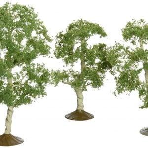 "Bachmann 3"" - 4"" Aspen Trees Box of 3 HO Scale 32010"