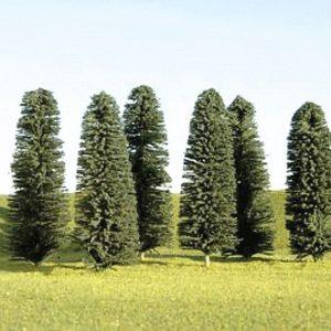 "Bachmann 3"" - 4"" Cedar Trees Box of 9 N Scale 32105"