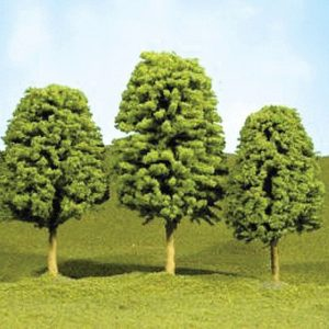 "Bachmann 2"" - 3"" Deciduous Trees Box of 4 N Scale 32106"