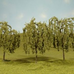 "Bachmann 2.25"" - 2.5"" Willow Trees Box of 4 N Scale 32114"