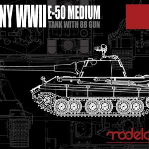modelcollect Kits WWII E-50 Medium Tank with 88 Gun MA72002