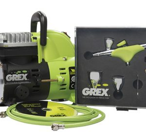Grex GCK05 Airbrush Combo Kit with Genesis.XGi AC1810-A Compressor Accessories