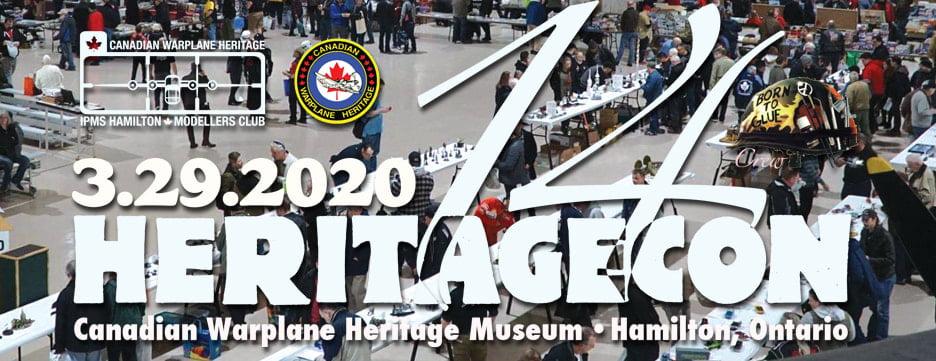 Sunward to Exhibit at Heritagecon 14 in Hamilton on Sunday March 29 2020
