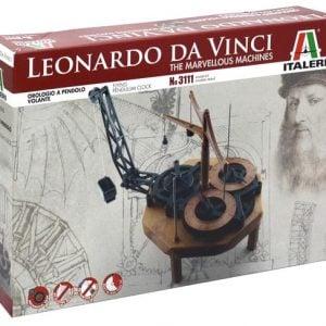 Italeri Pendulum Clock Leonardo da Vinci 3111
