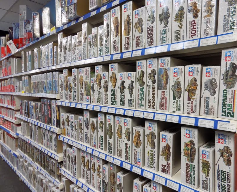 Expanded Selection of Tamiya Plastic Model Kits Now Available at Sunward Hobbies