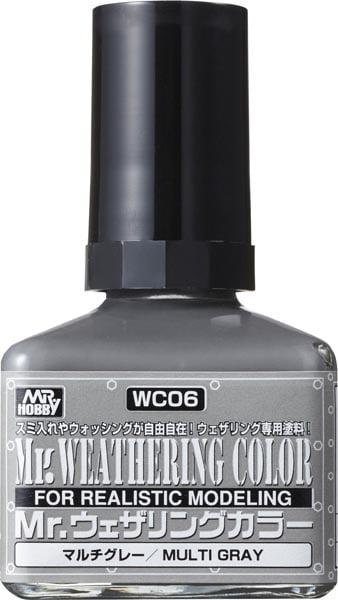 Mr Weathering Color Multi Grey WC06