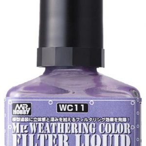 Mr Weathering Color Filter Liquid Shade Layer Violet WC11