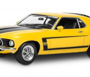 Revell 1969 Boss 302 Mustang 1/25 Scale 85-4313