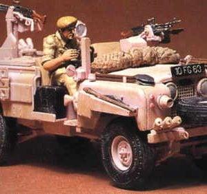 Tamiya British SAS Pink Panther Land Rover 1/35 Scale 35076