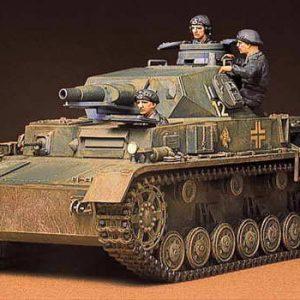 Tamiya German Panzer Kampfwagen IV Pzkpw Iv Ausfd Kit 1/35 Scale 35096