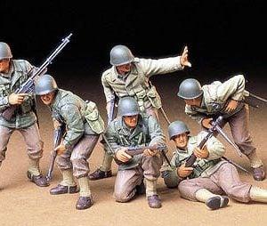 Tamiya U.S. Army Assault Infantry Set 1/35 Scale 35192