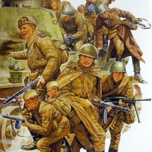 Tamiya Russian Army Assault Infantry Set 1/35 Scale 35207