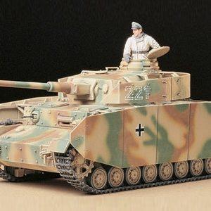 Tamiya Panzerkampfwagen Pz Kpfw Iv Ausf. H Early Version 1/35 Scale 35209