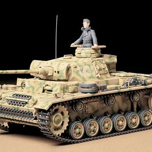 Tamiya German Pz. Kpfw Iii Ausf. L 1/35 Scale 35215