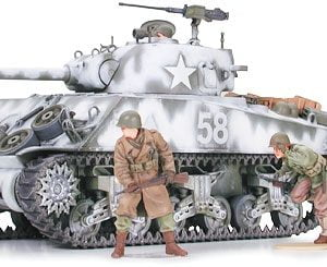 Tamiya M4A3 Sherman 105Mm Howitzer 1/35 Scale 35251