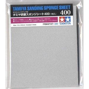 Tamiya Sanding Sponge Sheet 400 Grit 87147