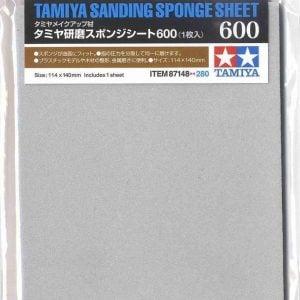 Tamiya Sanding Sponge Sheet 600 Grit 87148