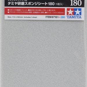 Tamiya Sanding Sponge Sheet 180 Grit 87161