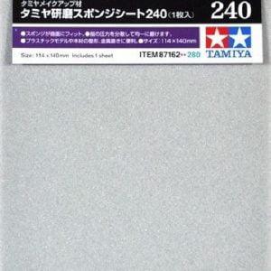 Tamiya Sanding Sponge Sheet 240 Grit 87162