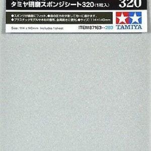 Tamiya Sanding Sponge Sheet 320 Grit 87163