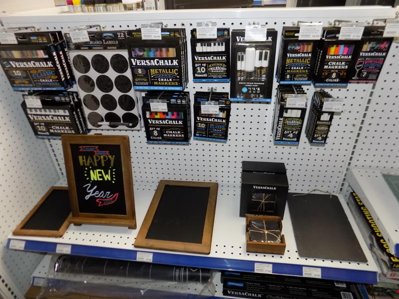 Versachalk Markers and Chalkboard now Available at Sunward Hobbies