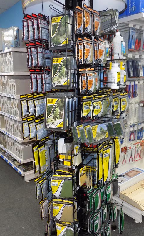 Woodland Scenics Now Available at Sunward Hobbies
