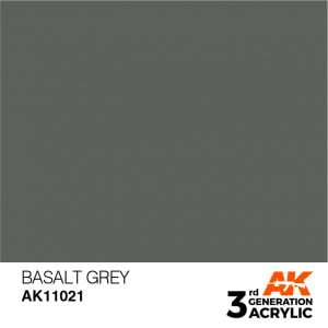 AK Interactive Acrylic Basalt Grey Standard 11021