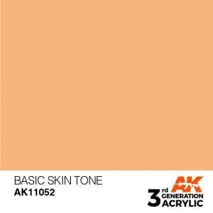 AK Interactive Acrylic Basic Skin Tone Standard 11052
