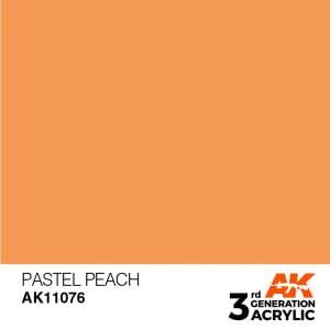AK Interactive Acrylic Pastel Peach Pastel 11076