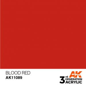 AK Interactive Acrylic Blood Red Standard 11089
