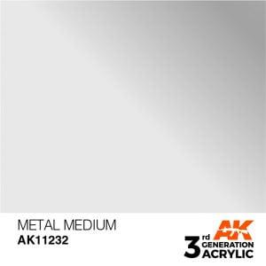 AK Interactive Acrylic Metal Medium 17ml 11232