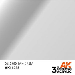 AK Interactive Acrylic Gloss Medium 17ml 11235