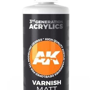 AK Interactive Acrylic Varnish Matt 100ml 11237
