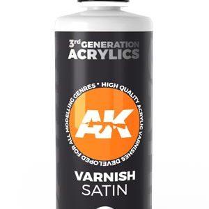 AK Interactive Acrylic Varnish Satin 100ml 11238