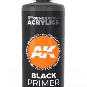 AK Interactive Black Primer 100ml 11242